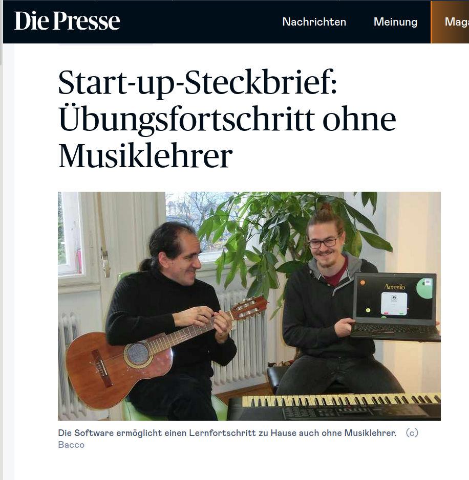 Start-up-Steckbrief