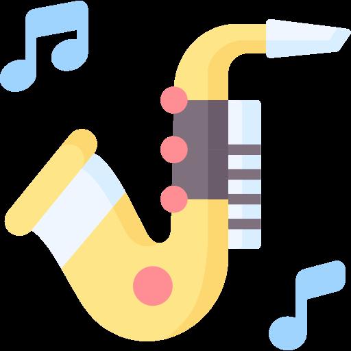 lerne ein Saxofon zu spielen