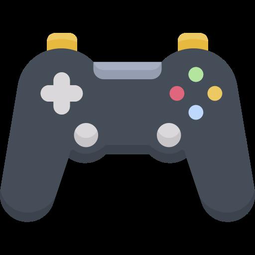 Schwarzer Videospielcontroller